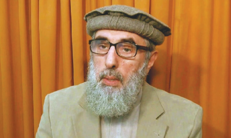 Hekmatyar relaxes conditions for peace with Kabul