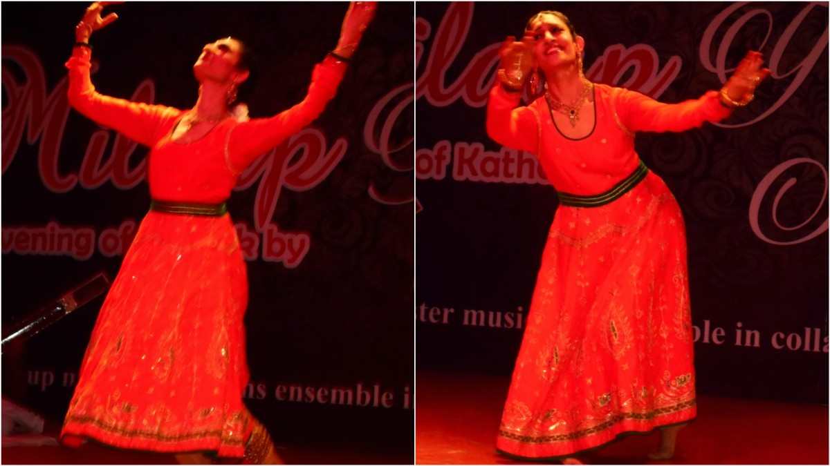 Scenes from Farah's performance at PACC - Photos by the author