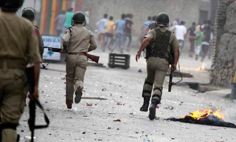 Clashes in India-held Kashmir after two 'militants' killed