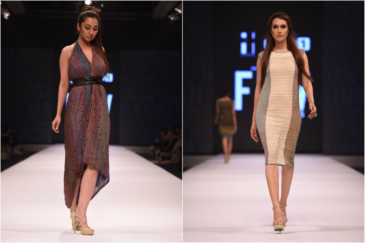 Delphi turned their signature crochet into diverse silhouettes