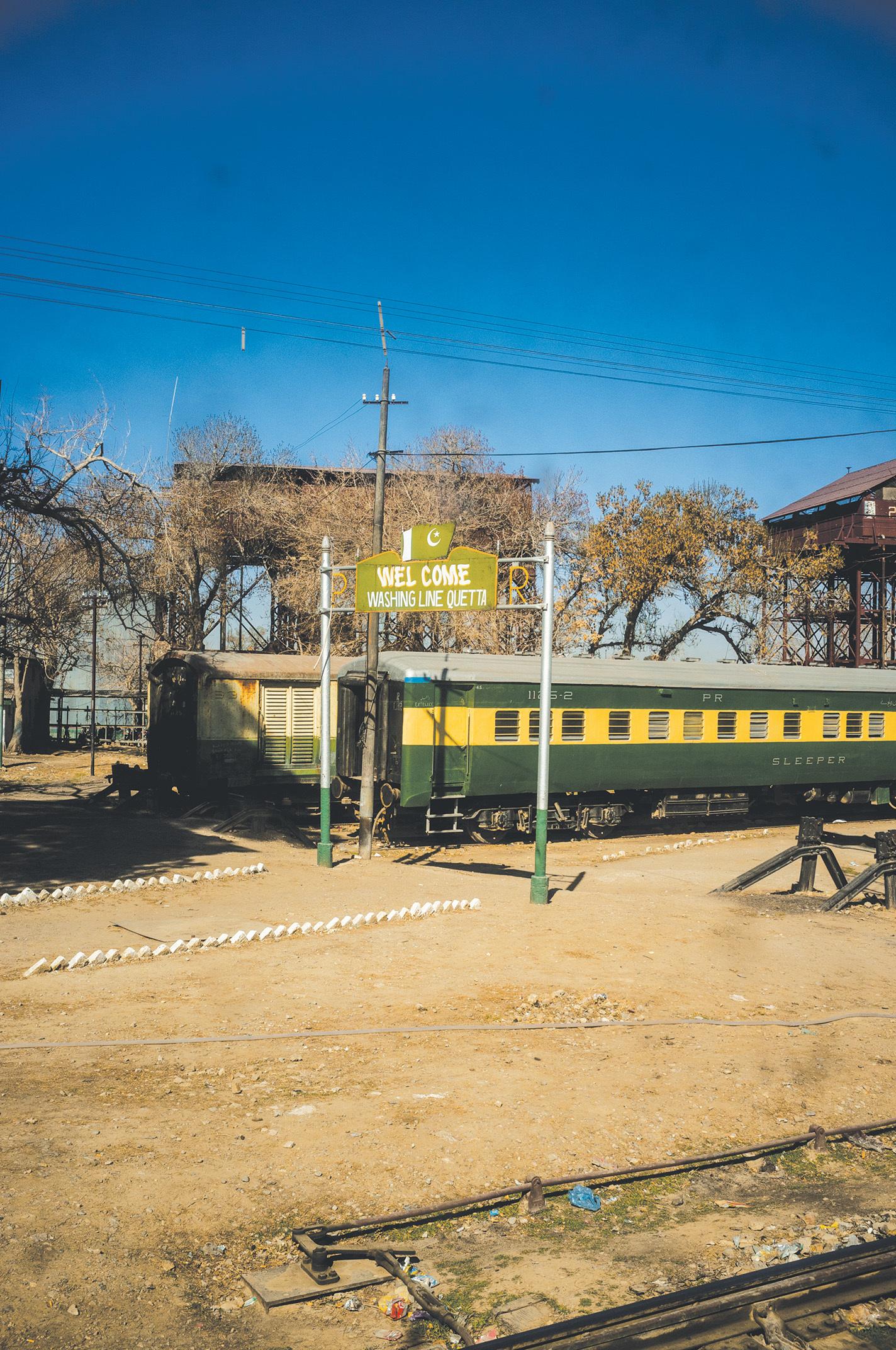 Bolan Mail reaches Quetta