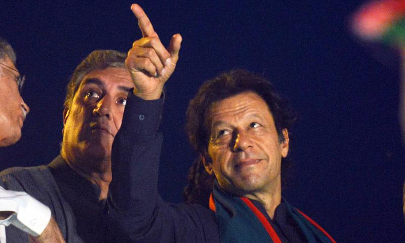Imran announces long march towards Raiwind