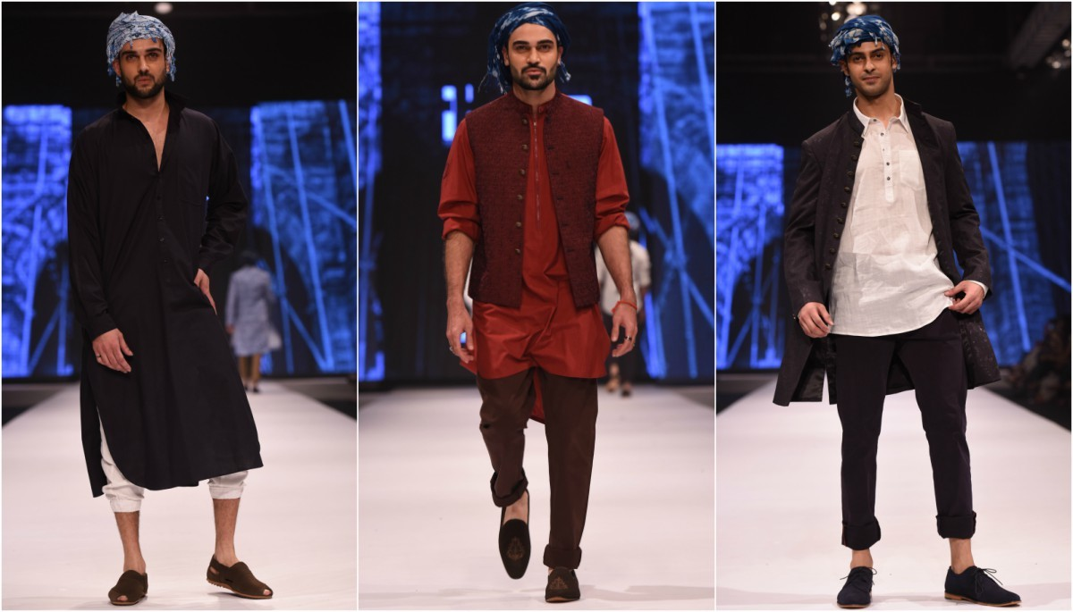 Amir Adnan proved once again that his strength lies in reinventing traditional silhouettes