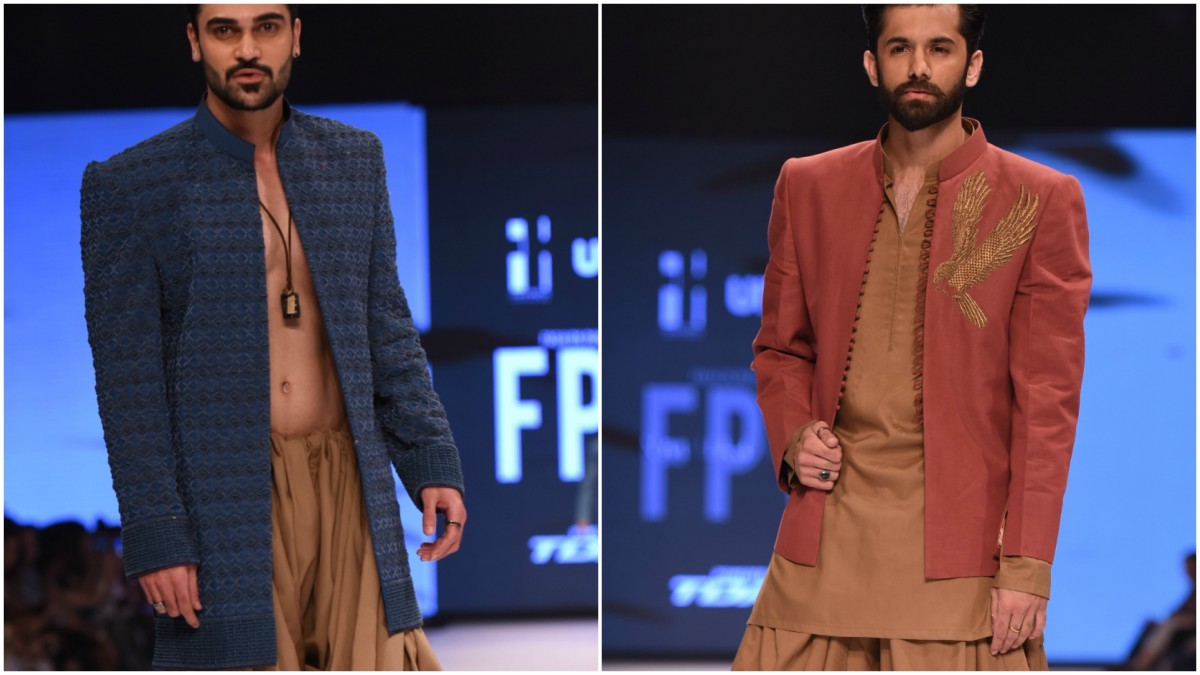 The collection marked Nauman Arfeen's breakaway from grooms wear
