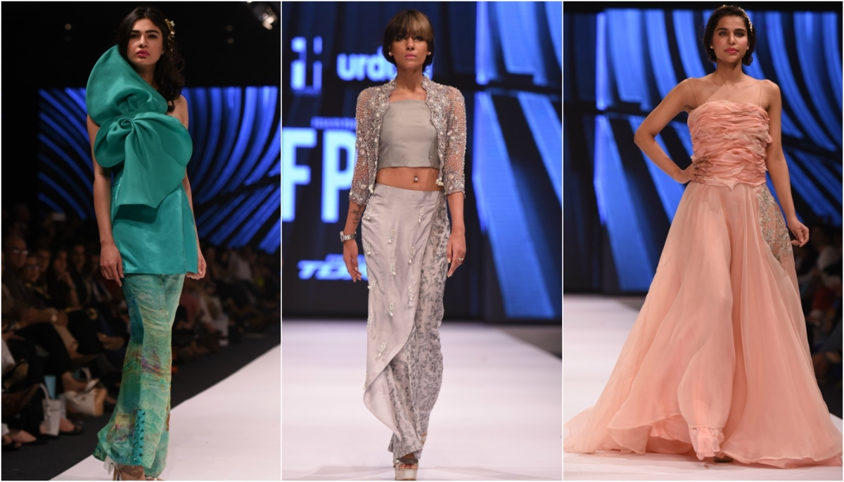 Zainab Salman's collection showed signs of sloppiness