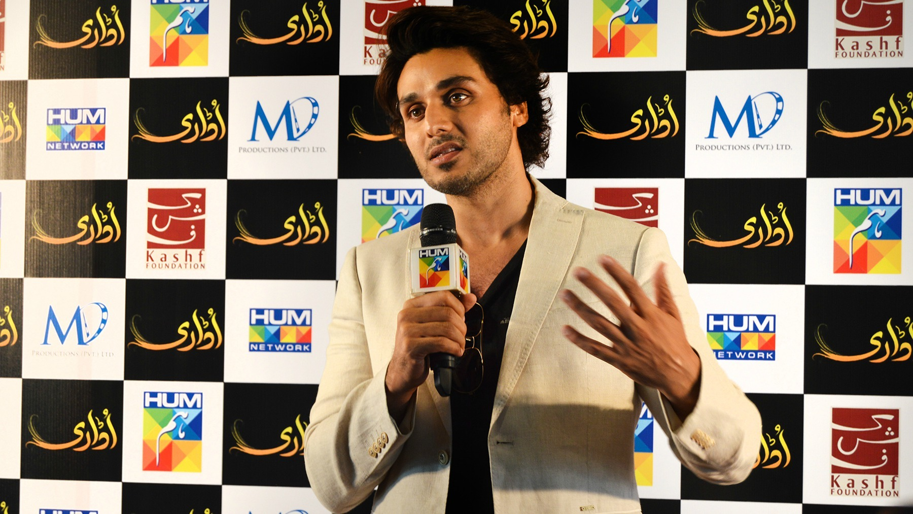 Ahsan Khan at the Udaari press conference