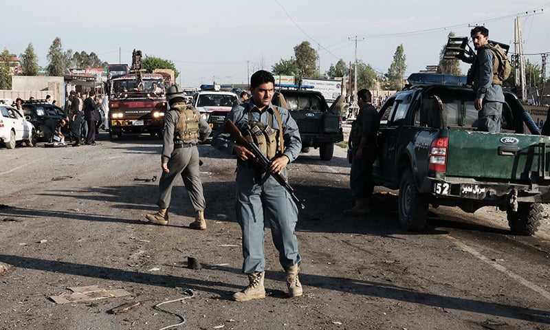 At least 12 killed in suicide attack on Afghan army recruits