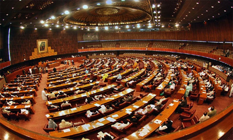 Religious parties again managed to defer two bills meant to stop honour killings and sexual abuse in the country.─ Photo: na.gov.pk