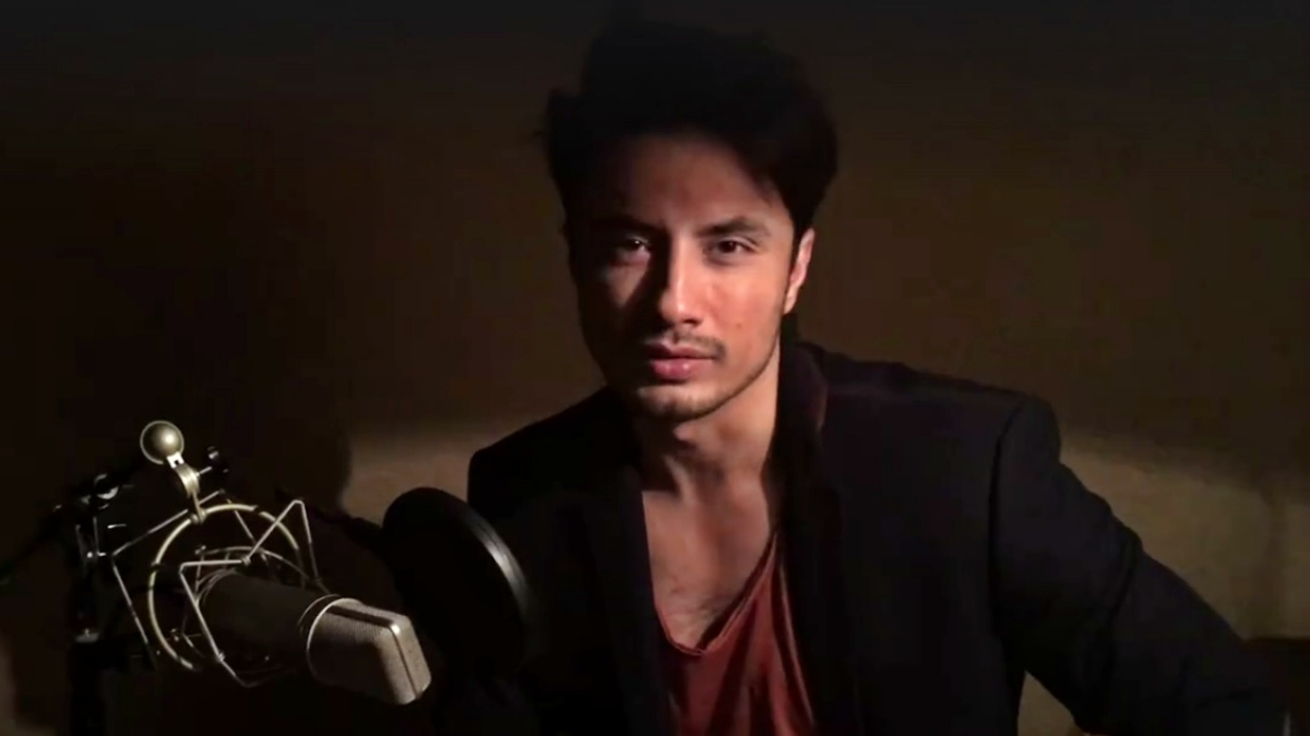 Watch Ali Zafar sing 'Angel' and totally transform Taher Shah's latest