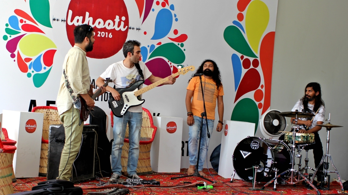 Sounds of Kolachi's were one of the anticipated performances at the mela