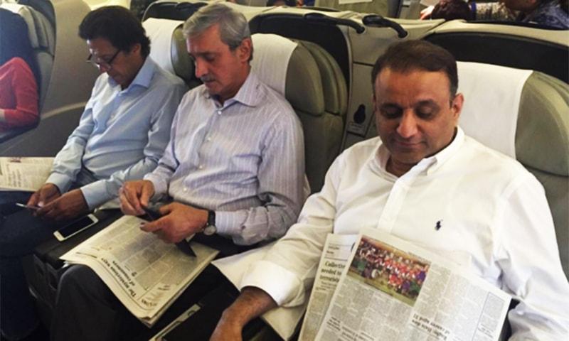 Imran Khan, Chaudhry Nisar depart for UK