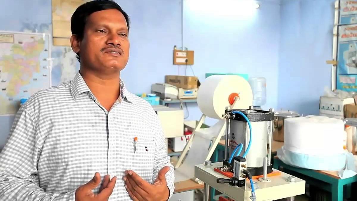 The inventor Arunachalam Muruganantham