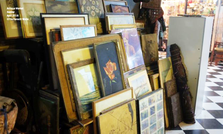 An Antique Market In Karachi 039 S Saddar Sells Nostalgia Dawn Com
