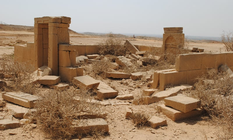 Many ancient tombs found in the area have been destroyed by the construction. ─ White Star