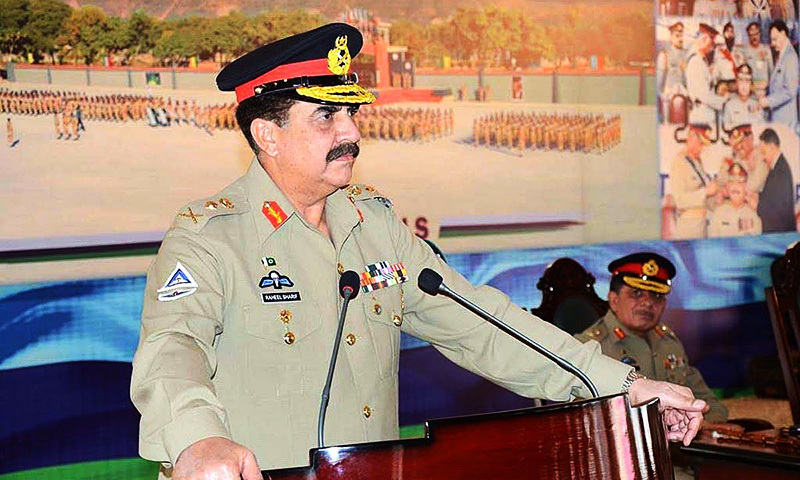 Army chief's 'accountability' views