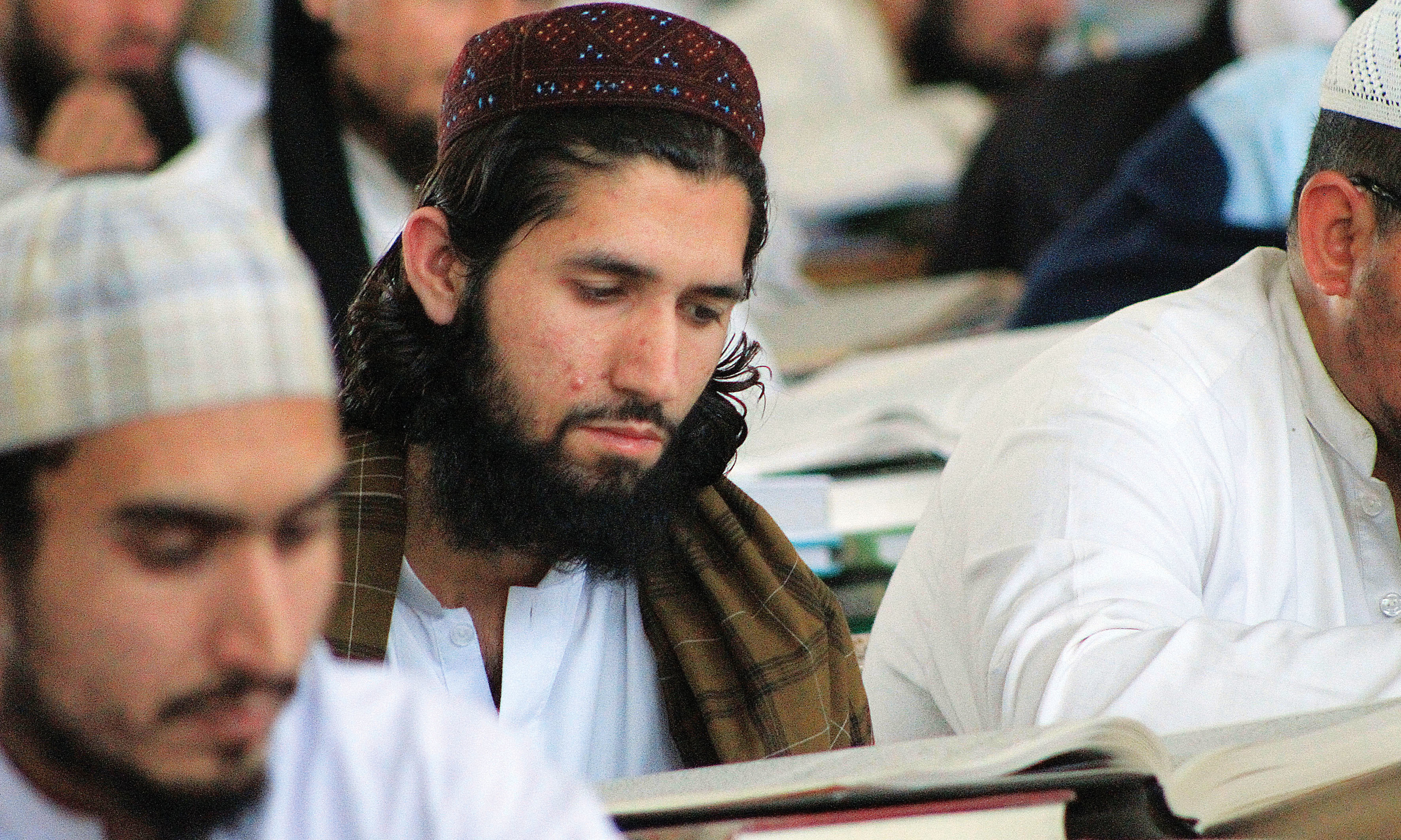 A student at Darul Uloom Haqqania, Akora Khattak | Ghulam Dastageer