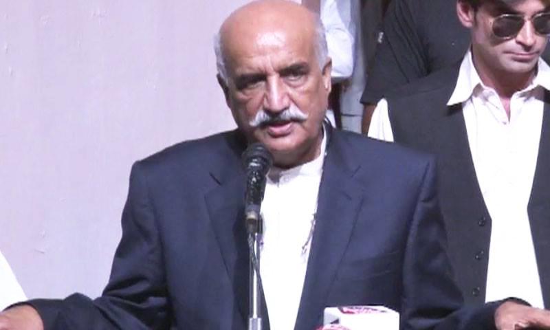 Khurshid Shah calls for PM to follow COAS' lead