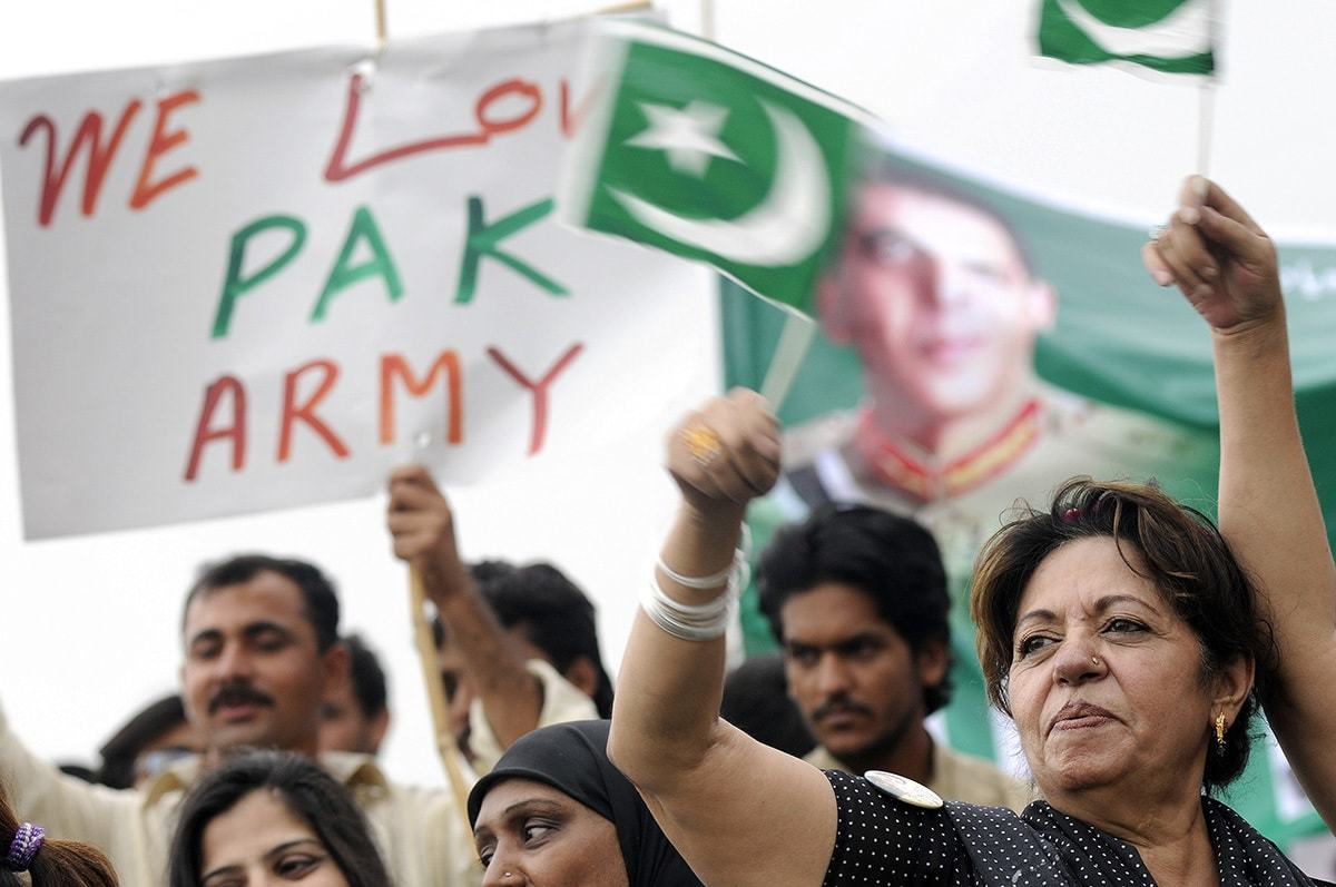 A pro-army rally in Islamabad | Tanveer Shahzad, White Star