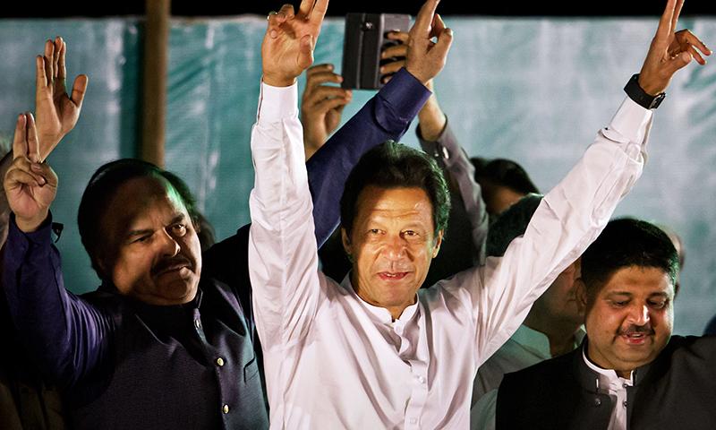 Pakistan Tehreek-i-Insaf (PTI) Chairman Imran Khan. -AP