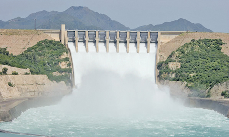 Tarbela Dam. 'Few realise that the fresh water we receive through our rivers, fed by glaciers and rain, is no longer enough to meet our needs.'