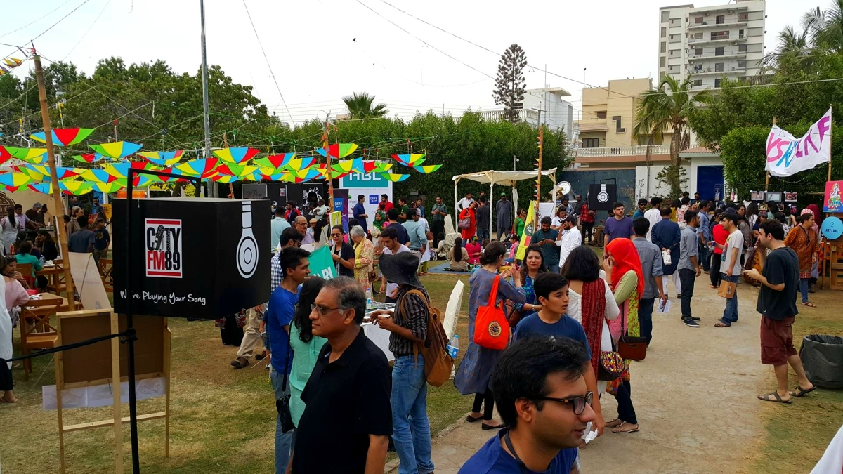 The Creative Karachi Festival, held this past weekend, served as a great fundraiser, but more is needed