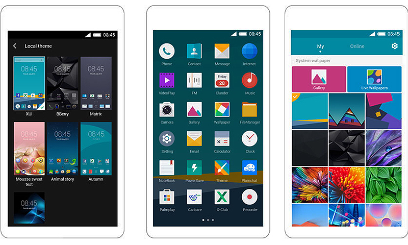 Infinix uses its own user interface called XUI.─ Photo: Infinix website