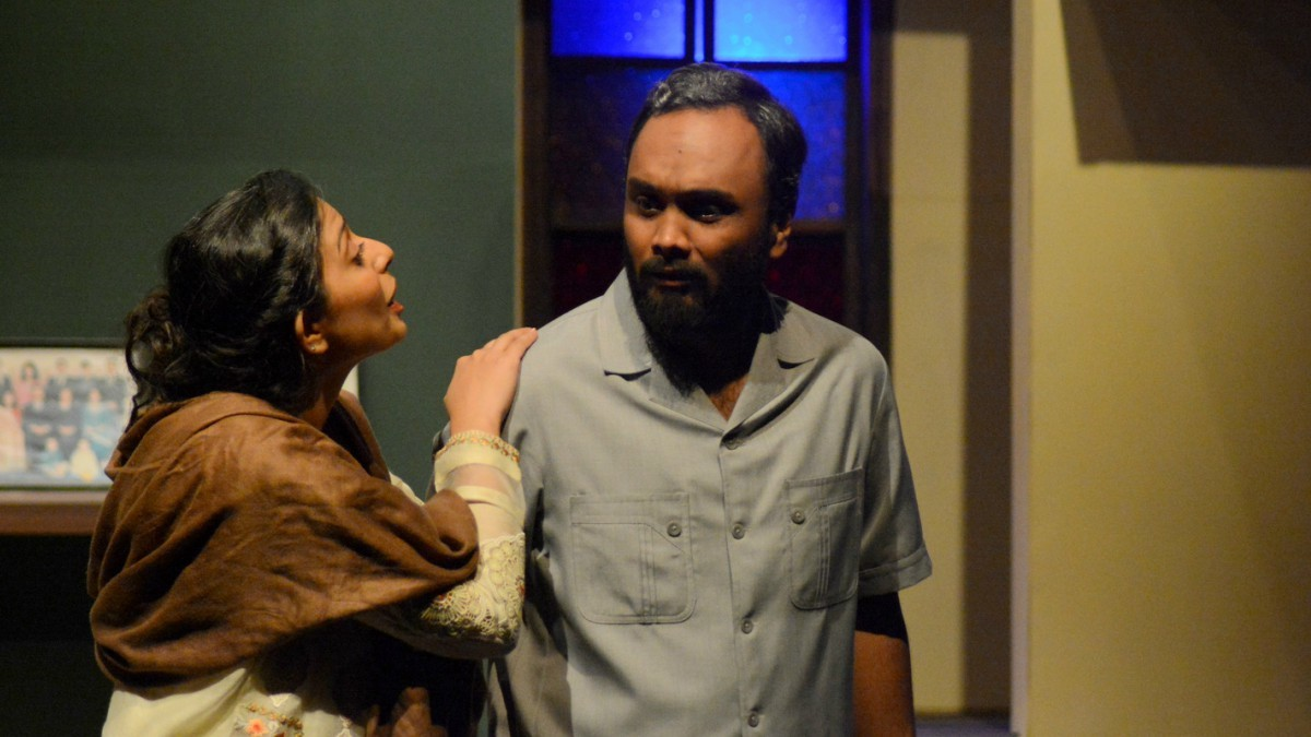 Hammad Siddiq did a good job of portraying a conflicted father