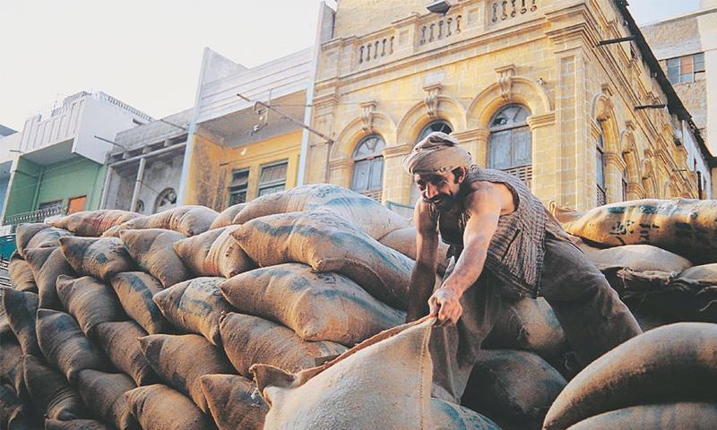 A labourer at work