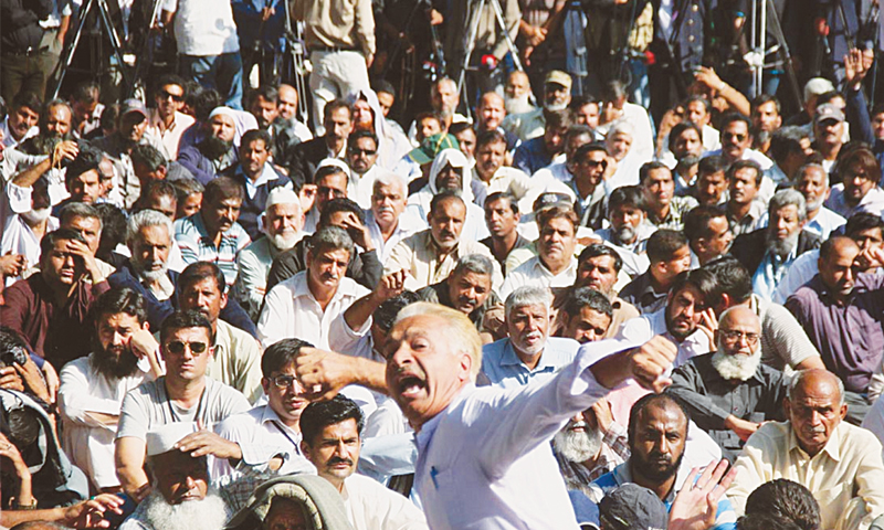 On death's door: trade unions in Pakistan