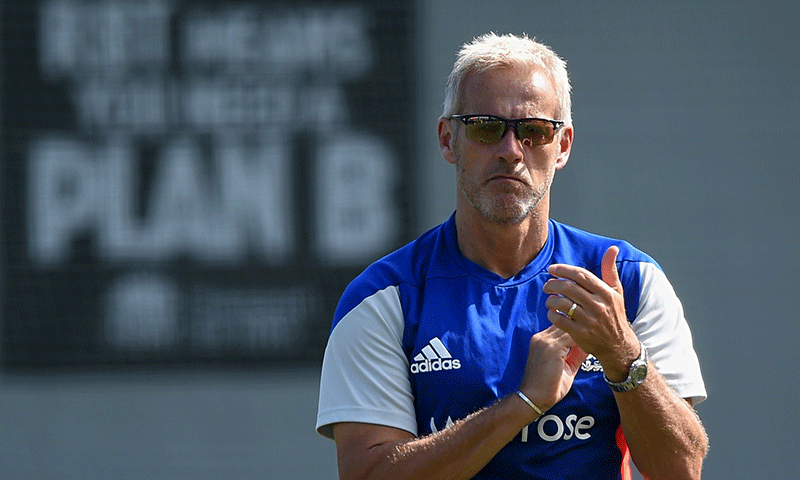 Former England coach Peter Moores has turned down an opportunity to succeed Waqar Younis as the new Pakistan coach. — Reuters/File