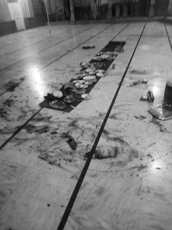 The site of the attack. ─ Photo: Ali Akbar