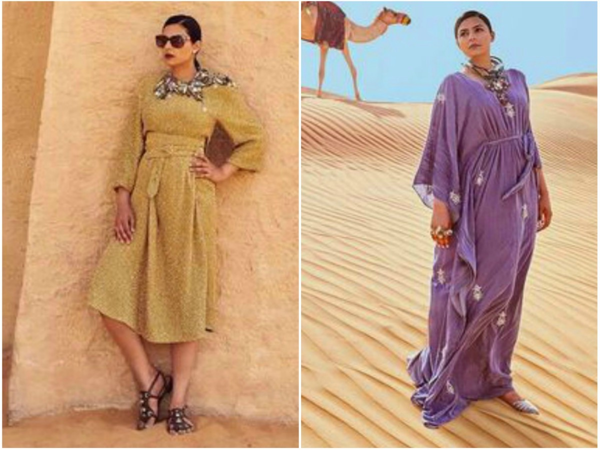 My two looks for the Neo Arabia shoot.