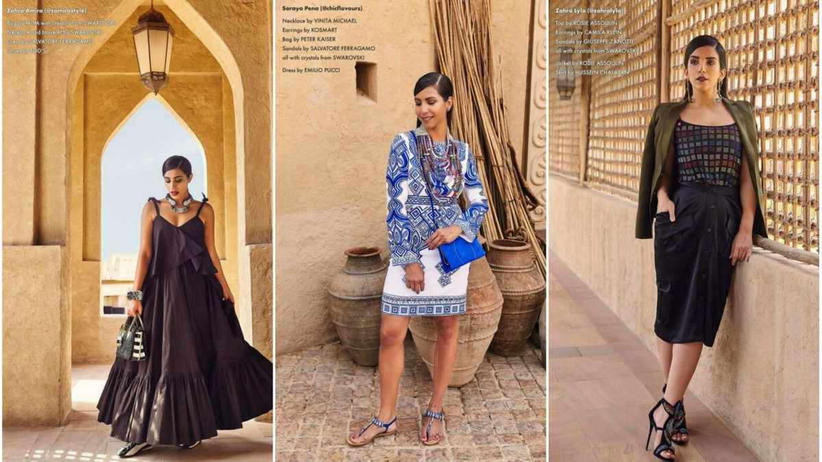 Women of the Asia and Middle Eastern region are more style-savvy than expected
