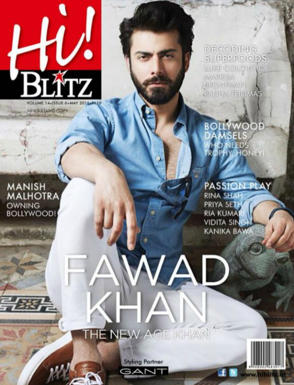 Image result for top magazine covers fawad khan