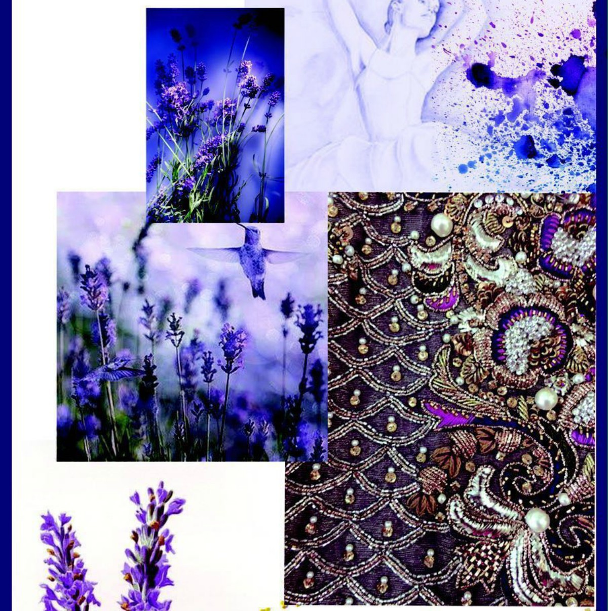 Asifa and Nabeel are inspired by fields of lavender in their upcoming collection