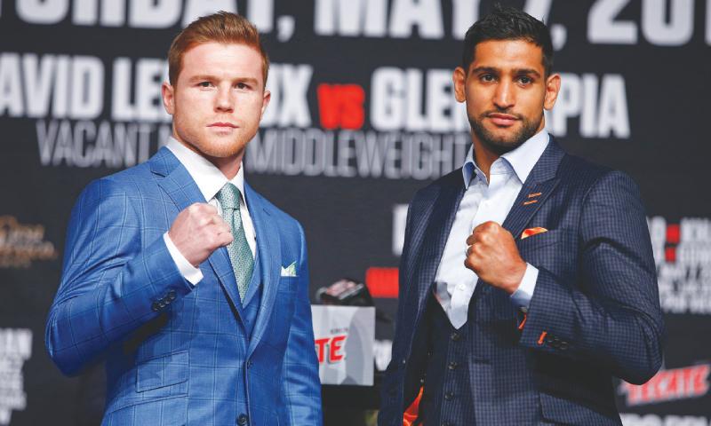 Leicester-inspired  Amir seeks to overpower Alvarez
