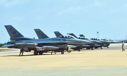 Pakistan raises issue of F-16 sale with visiting US commander