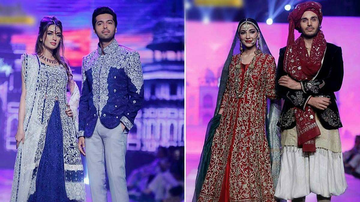 The Mah e Mir couple made quite the impact as Zainab Chottani's showstoppers, while the same can't be said of Ahsan Khan who walked twice