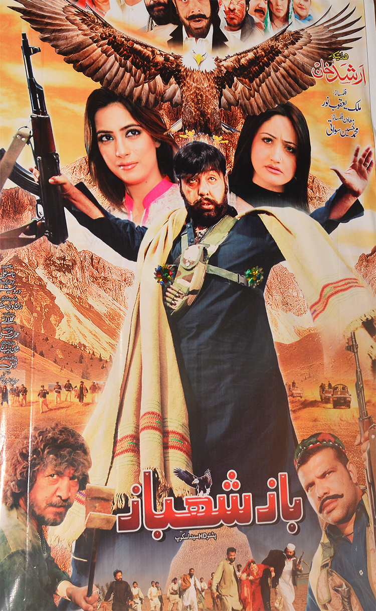 Poster of an upcoming movie 'Baaz Shahbaaz' — Photo by author