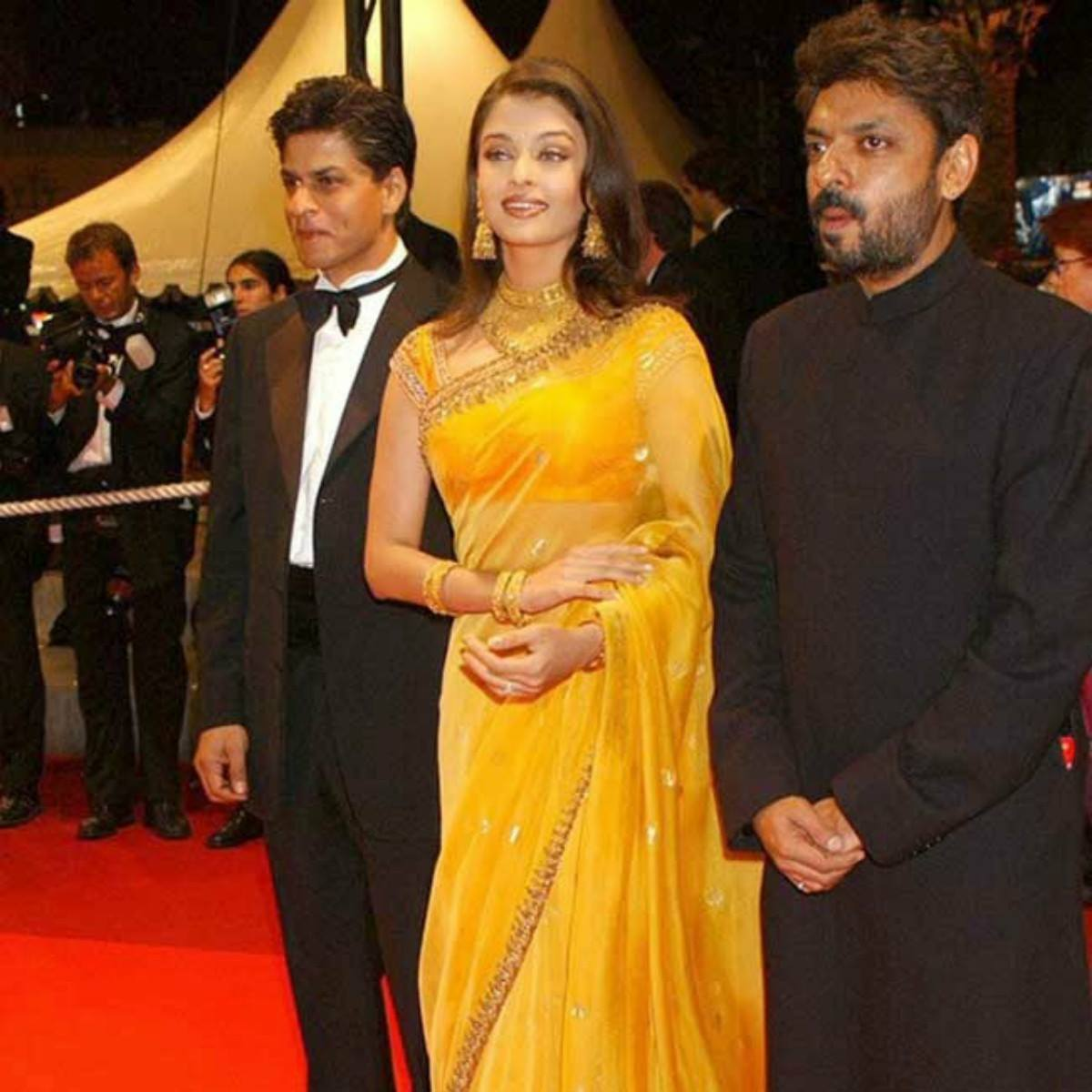 She made her Cannes debut alongside Shah Rukh Khan.