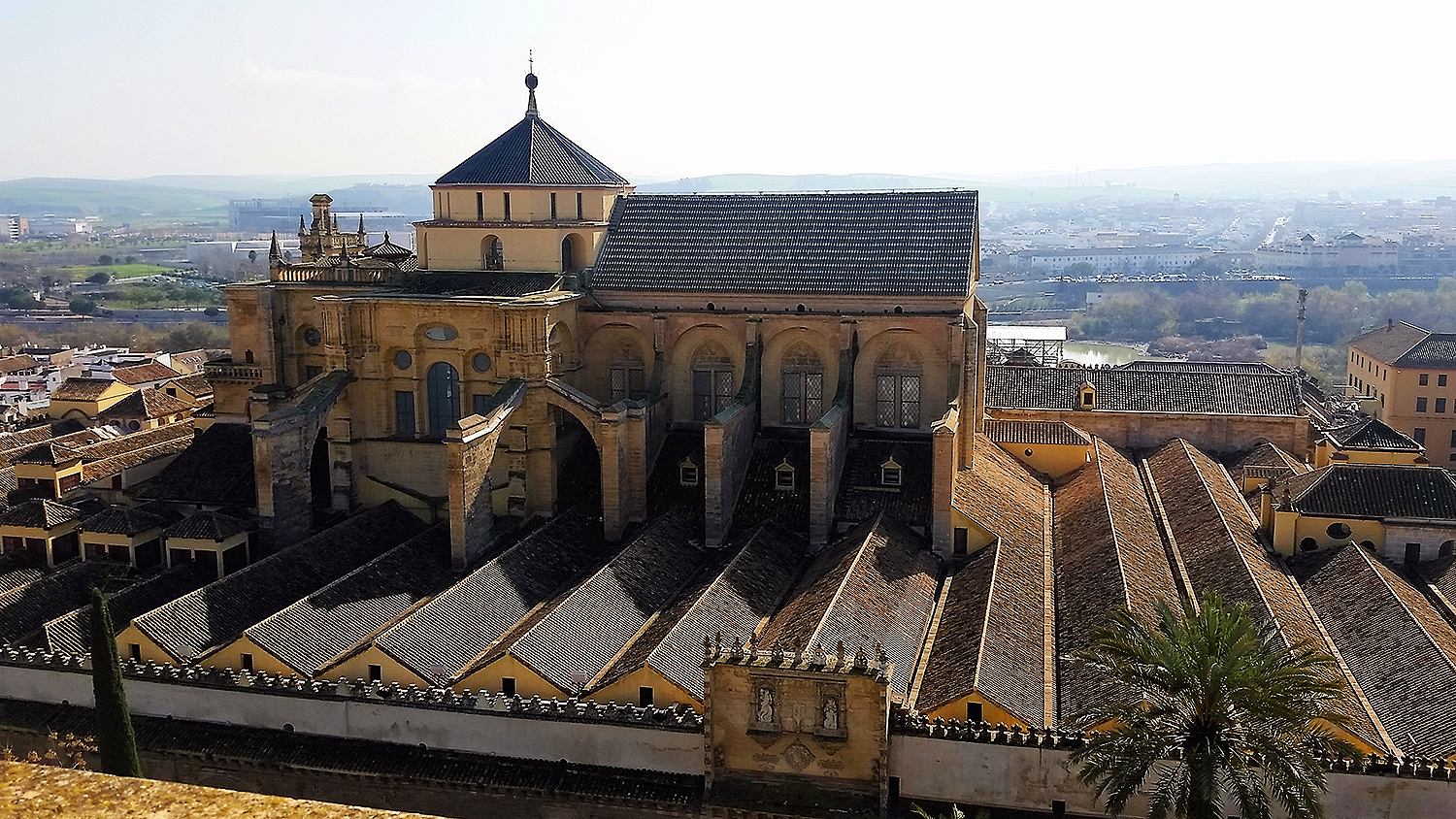 View of the cathedral-mosque from the bell tower. —Photo by author