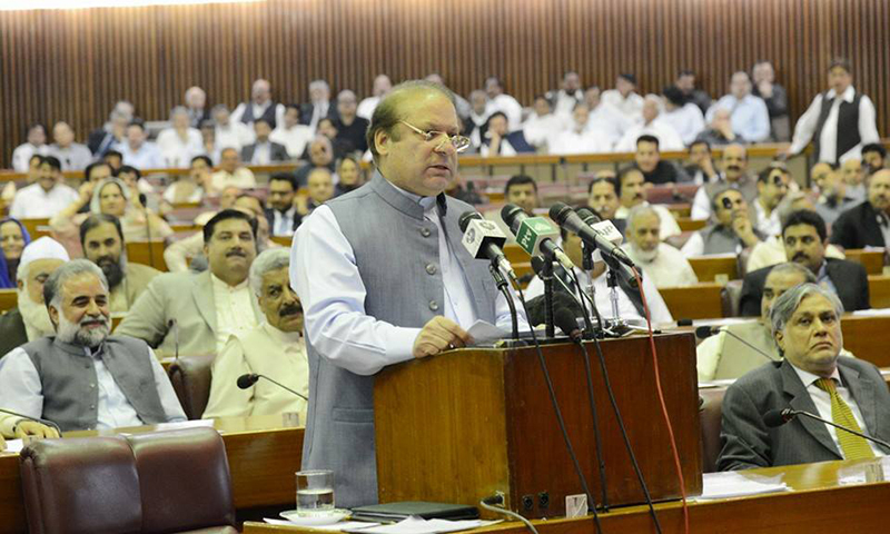 Nawaz suggests forming joint committee to probe Panama leaks