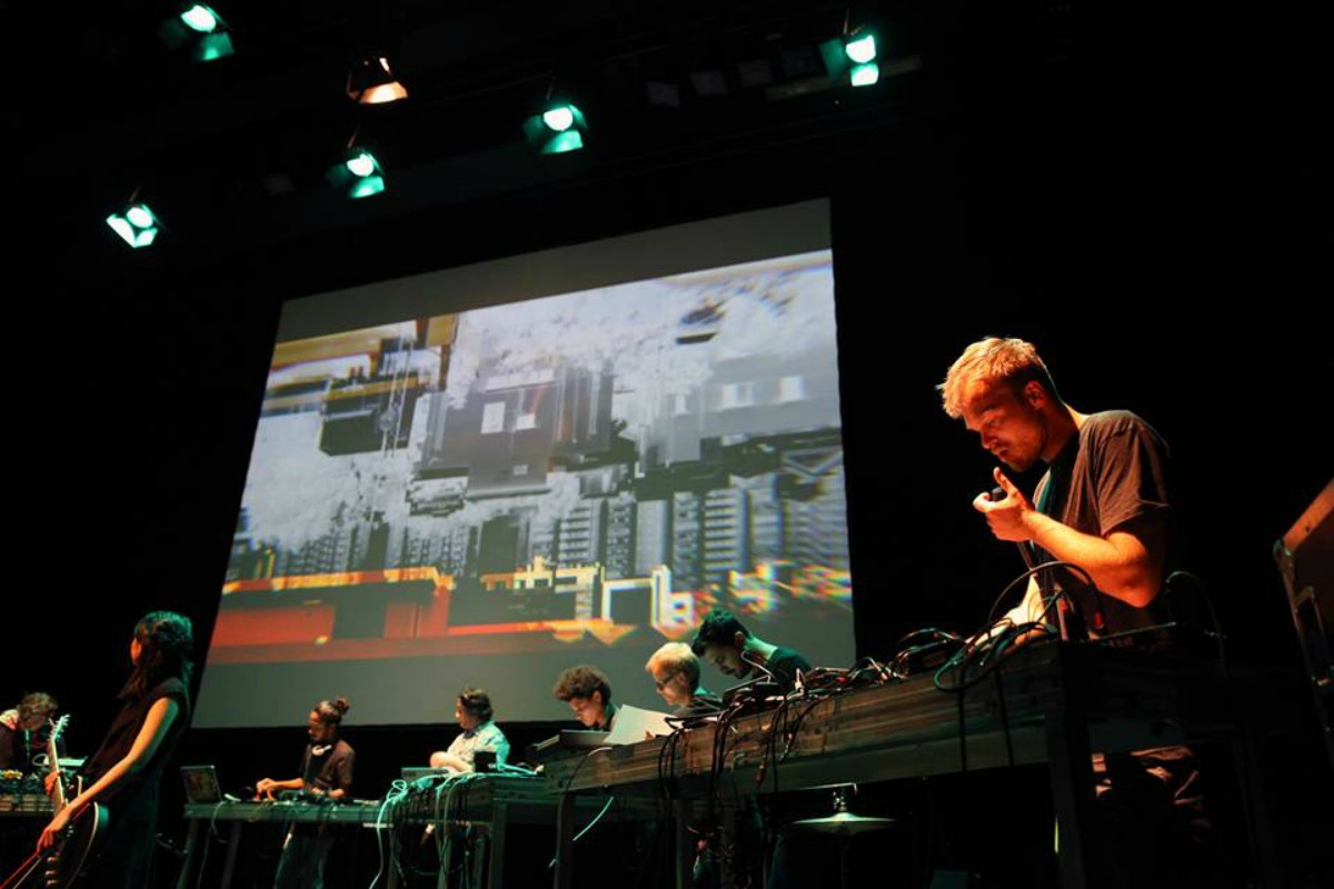 Berlin-based Soundcamp resident Taprikk Sweezee performed tracks from The Karachi Files at the concert in the city last weekend - Photo by Dorothea Tuch