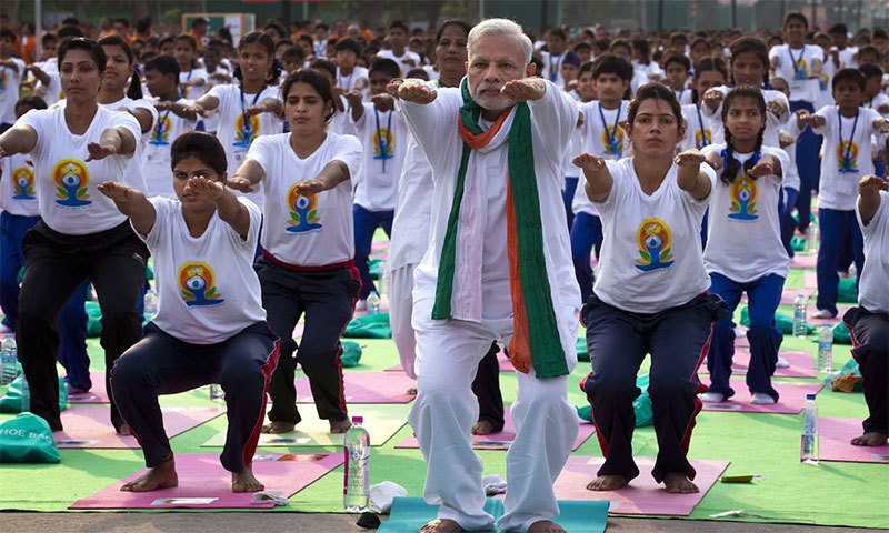 Indian Muslims angry over Yoga Day 'Om' chant proposal
