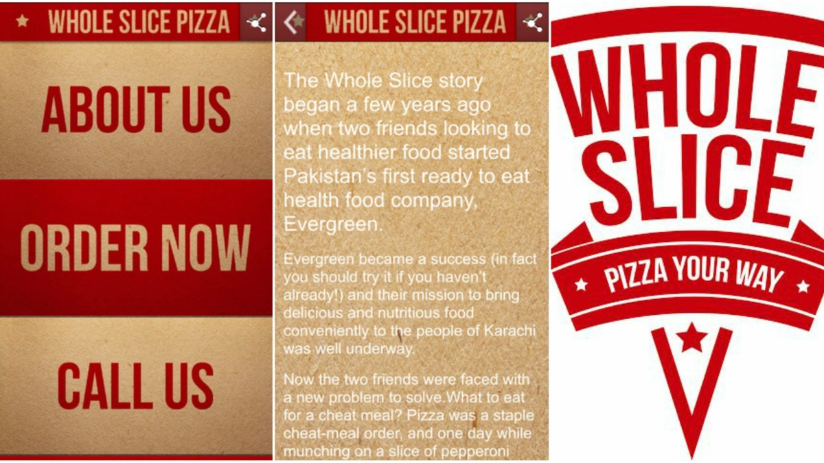 The app has all you need... From Whole Slice