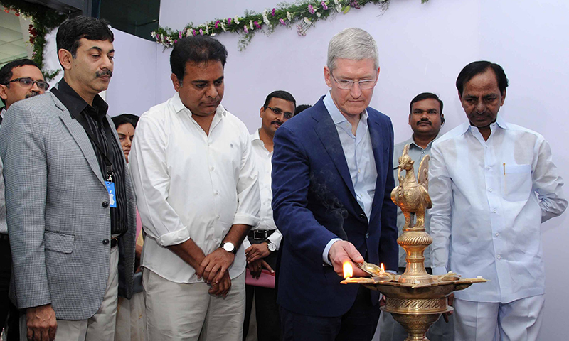 Apple opens map development office in India's Hyderabad