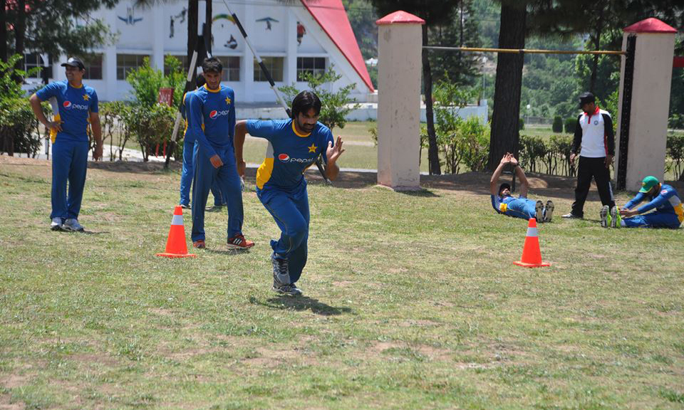 Among 31 players attending the camp, many have been unable to meet the required fitness criteria. —PCB facebook page