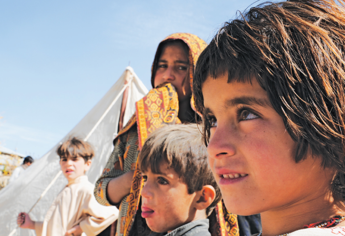 Pakhtun children in Balochistan |Stephan Andrew, White Star