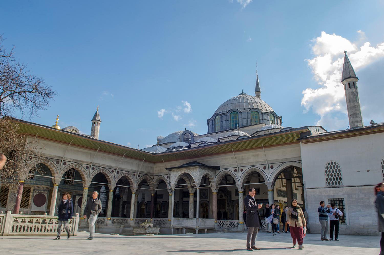 The Sultan's quarters inside the Topkapi Palace.