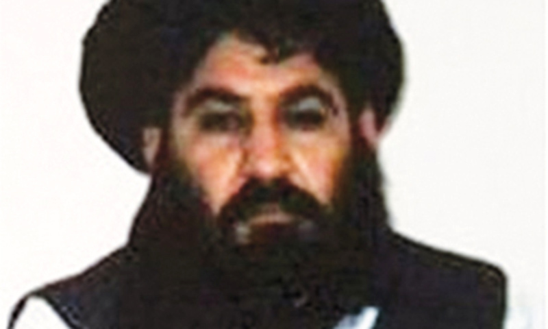 Afghan Taliban chief Mansour killed in air strike: US